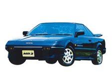 トヨタ MR2 (1985年6月~1986年8月)