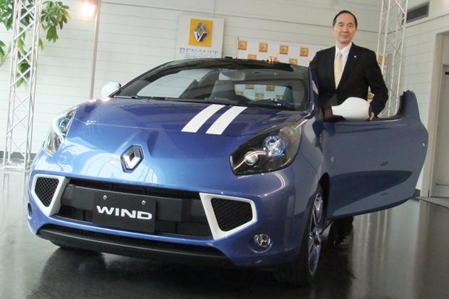 ルノー ウィンド ゴルディー二 新型車発表会速報