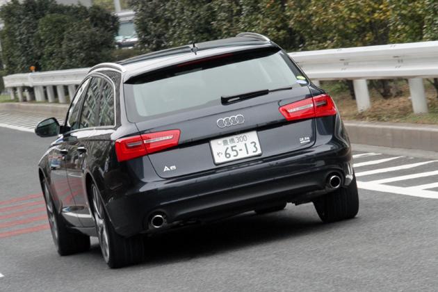 アウディ 新型 A6 アバント 2.8FSI quattro 新車試乗レポート/飯田裕子