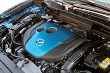マツダ CX-5 XD[4WD/ボディカラー: スカイブルーマイカ] SKYACTIV-D + ディーゼルエンジン用i-stop