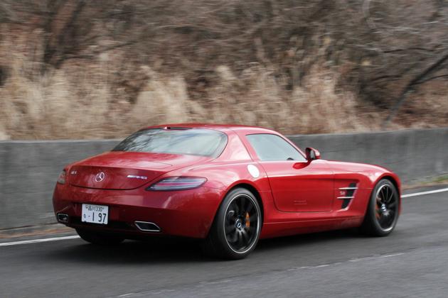 メルセデス・ベンツ SLS AMG Coupe 試乗レポート/岡本幸一郎