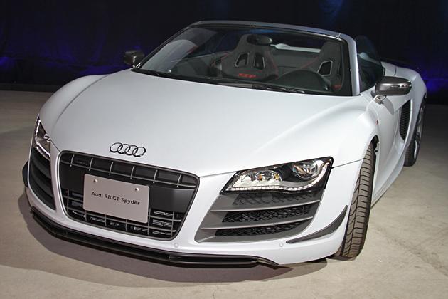 アウディ、3,064万円・560psのオープンスポーツカー「R8 GTスパイダー」発売!