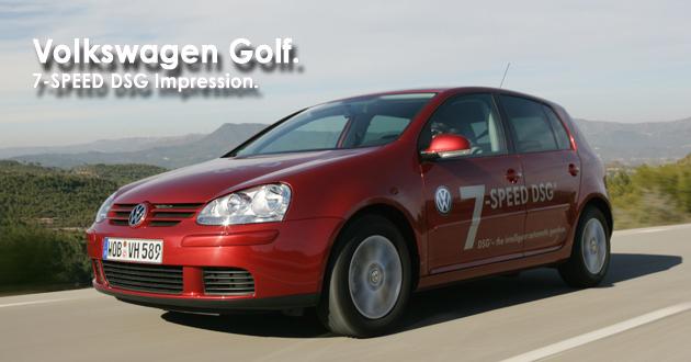 フォルクスワーゲン ゴルフ 7速DSG搭載モデル 海外試乗レポート