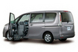 日産 福祉車両「LV(ライフケアビークル)」日産 セレナ アンシャンテ 助手席スライドアップシート