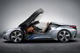 「BMW i8 コンセプト スパイダー」[北京モーターショー出展車]