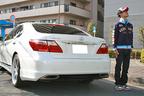 脇阪寿一選手と愛車のLS460