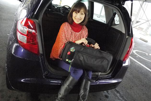 西川綾子さん/今井優杏の「自動車美人」