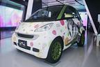 メルセデス・ベンツ、群馬・埼玉・新潟EV・PHVサミットに「魔法少女まどか☆マギカ」痛車を展示