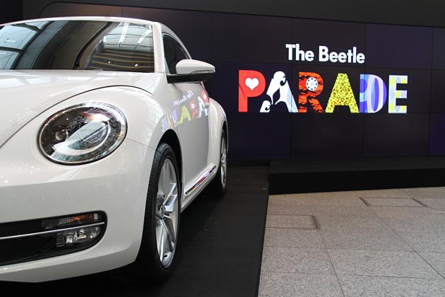 ザ・ビートル(新型ビートル)発売記念イベント「The Beetle PARADE」が東京・丸の内で開催!