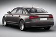 Audi A6 L e-tron concept[電気自動車コンセプトカー]リアビュー