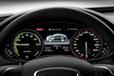 Audi A6 L e-tron concept[電気自動車コンセプトカー]メーター周り