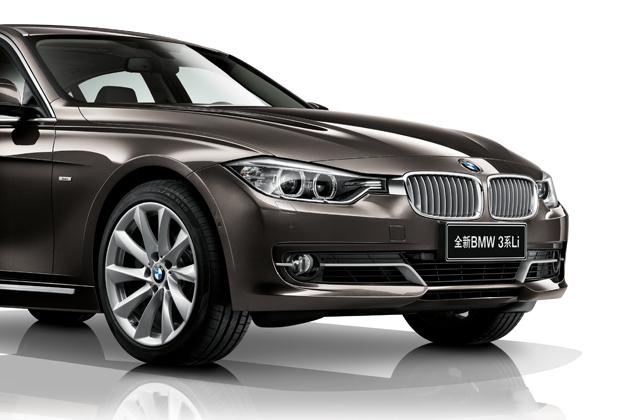 BMW NEW 3シリーズ セダン ロングホイールベースバージョン[BMW NEW 335Li] フロント周り