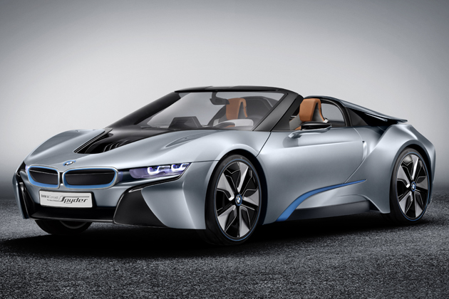 BMW i8 Concept Spyder エクステリア