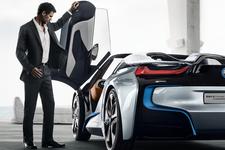 「BMW i8 コンセプト スパイダー」イメージ1