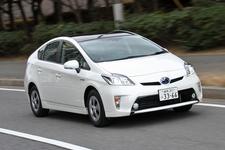 エコカー免税100%適合の例:ハイブリッドカーの「トヨタ プリウス」