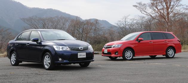 トヨタ 新型カローラアクシオ・新型カローラフィールダー 新型車解説/松下宏
