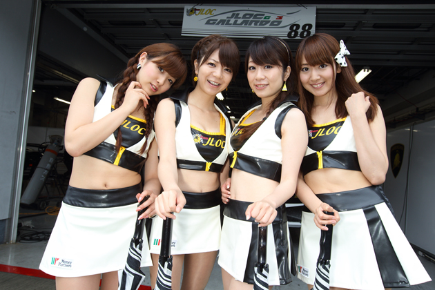 2012 SUPER GT レースクイーン画像ギャラリー in「FUJI GT 500km RACE」~ VOL.3 GT300編