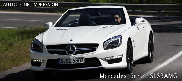 メルセデス・ベンツ 新型SL63AMG 海外試乗レポート/桂伸一
