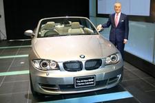 BMW 120i カブリオレ 新車発表会速報