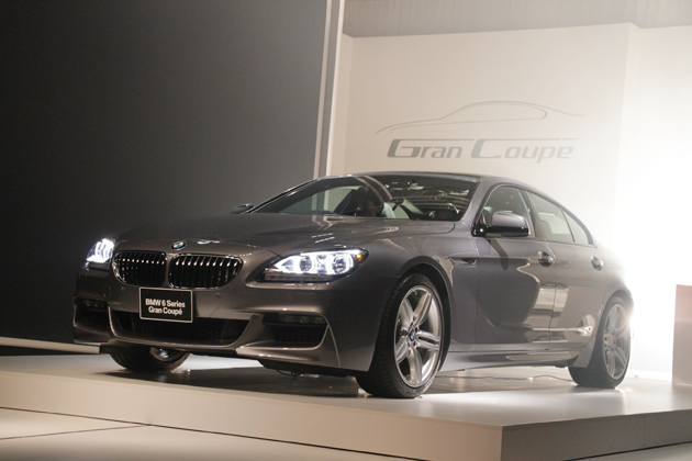 BMW 6シリーズ グランクーペ発表会速報