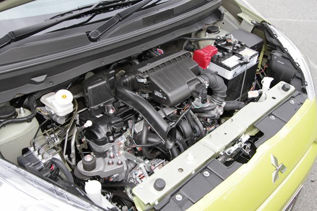 三菱 ミラージュ[プロトタイプ] 1.0リッター 直列3気筒 DOHC MIVECエンジン