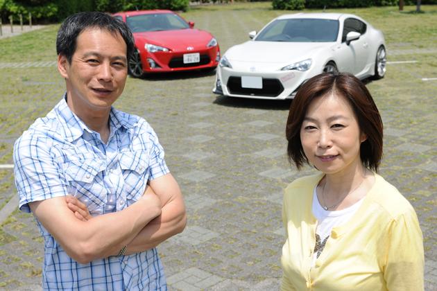 (左)飯田章氏/(右)飯田裕子さん