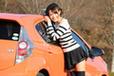 トヨタ アクア(ボディカラー:シトラスオレンジマイカメタリック)