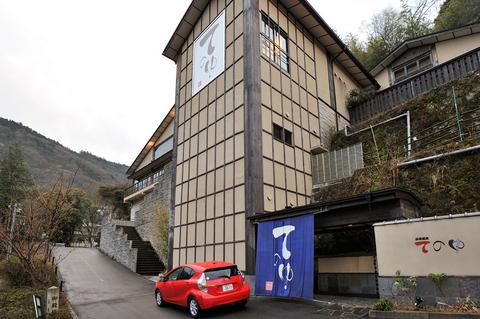 箱根湯元温泉「てのゆ」   今回の濡れ湯美人に入ってもらう温泉はここです。