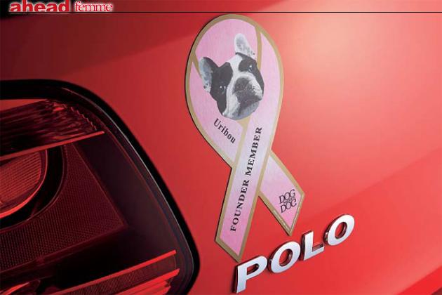 【ahead femme×オートックワン】-ahead 6月号- リボンマグネットが犬を救う!?