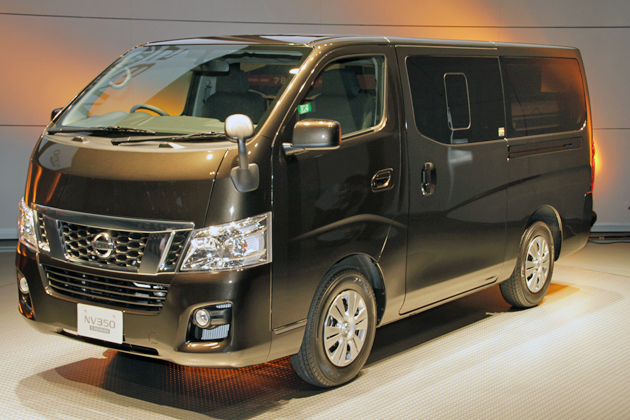 日産 新型商用車「 NV350キャラバン」