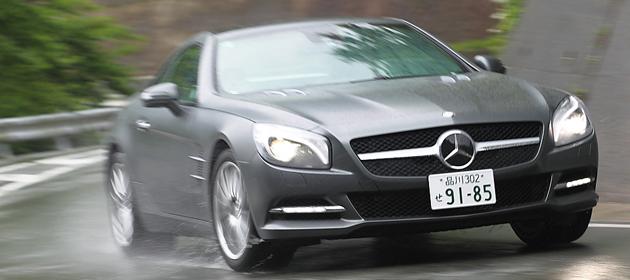 メルセデス・ベンツ SL350/550 試乗レポート/桂伸一