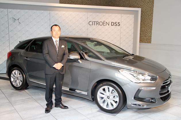 シトロエン DS5 新型車 発表会速報 ~DSラインのフラッグシップモデル登場~