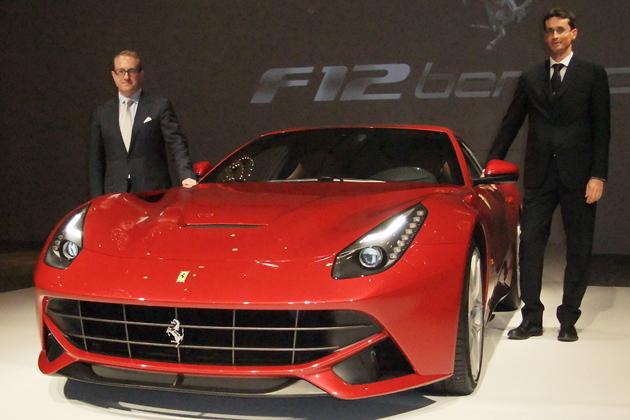 フェラーリ F12ベルリネッタ 新型車速報
