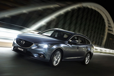 新型「Mazda6」ワゴン(欧州仕様車)
