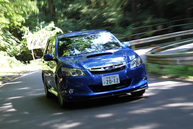 スバル エクシーガtS(EXIGA STI Version)走行イメージ1