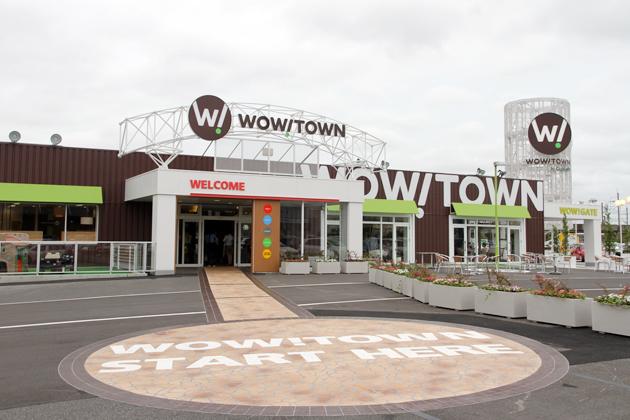 今までにない新コンセプトの大型中古車店「WOW!TOWN」が千葉・幕張にオープン