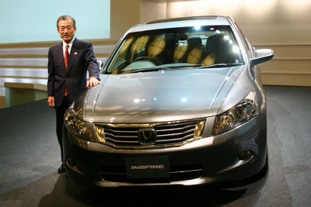 ホンダ インスパイア 新車発表会速報
