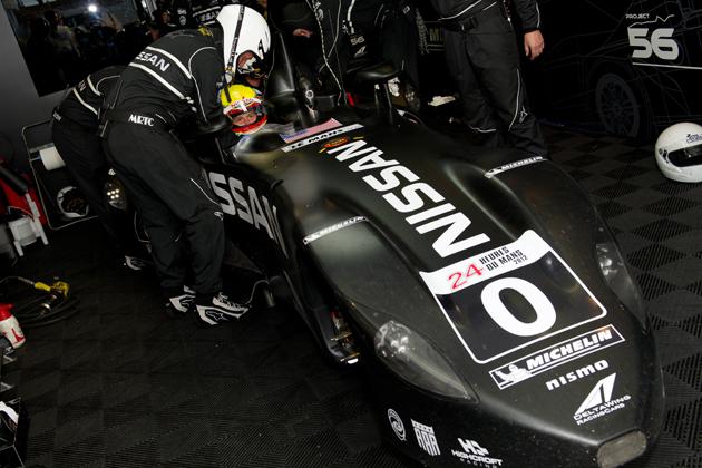 ルマン参戦 日産デルタウィングがレースカーの概念を覆す!