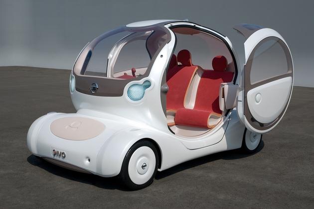 2005年の東京モーターショーで発表したコンセプトカー日産「PIVO」【日産自動車 EV技術開発本部 エキスパートリーダー 宮本丈司 インタビュー】
