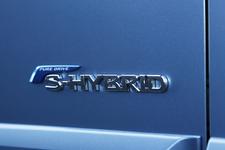 新型セレナハイブリッド(S-HYBRID)ロゴ