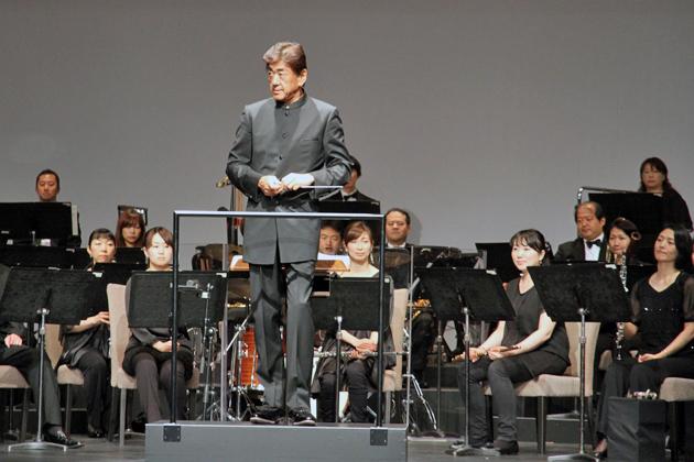 「The new Audi S Model」記者発表会 名指揮者、佐渡 裕(さどゆたか)さんの指揮による、生のオーケストラ演奏[シエナ・ウィンド・オーケストラ]