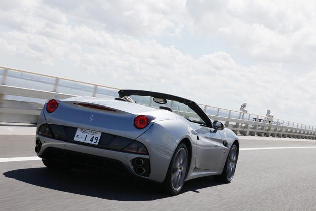 フェラーリ カリフォルニア 30 試乗レポート4