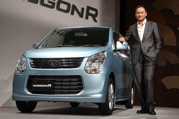 スズキ 新型ワゴンR 新型車速報 ~渡辺謙も思わず「新型ワゴンR、買っちゃった!」~