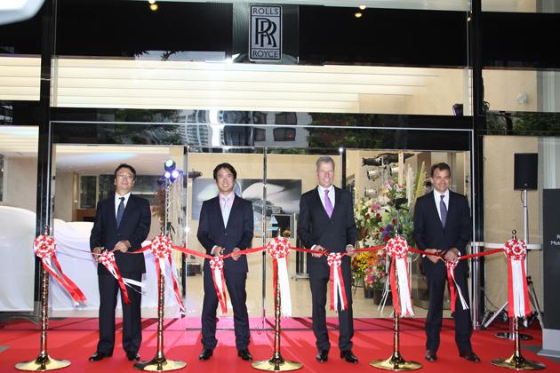 ロールス・ロイス 東京ショールーム 新装オープン 発表会速報
