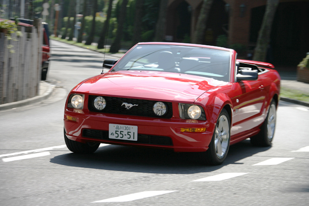 クリックすると、前の画像へ行きます フォード マスタング 試乗レポート