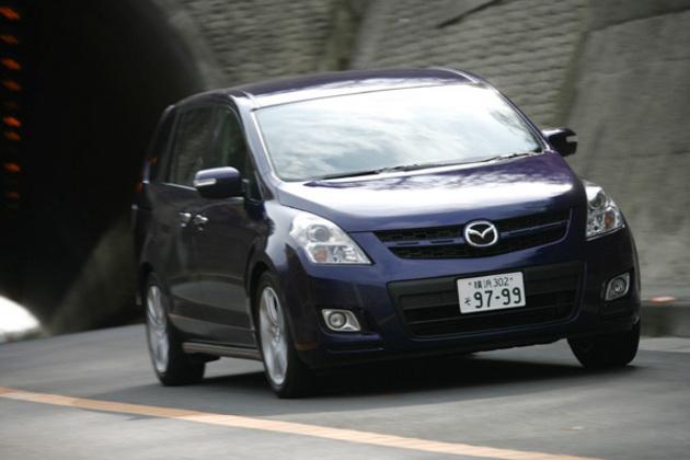 マツダ MPV 23T 試乗レポート