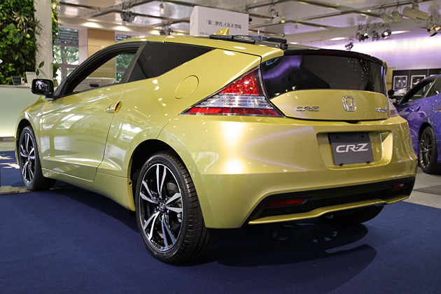 ホンダ 新型CR-Z(2012年マイナーチェンジモデル)リアエクステリア
