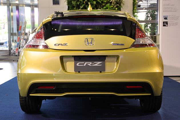 ホンダ 新型CR-Z(2012年マイナーチェンジモデル)リアビュー