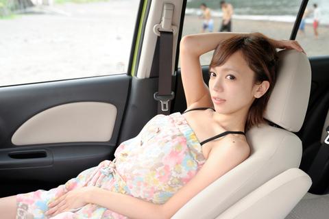 鎌田さん、マーチとのドライブ、楽しかった?