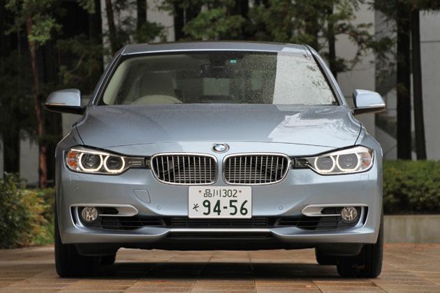 BMW ActiveHybrid 3 フロント正面・エクステリア
